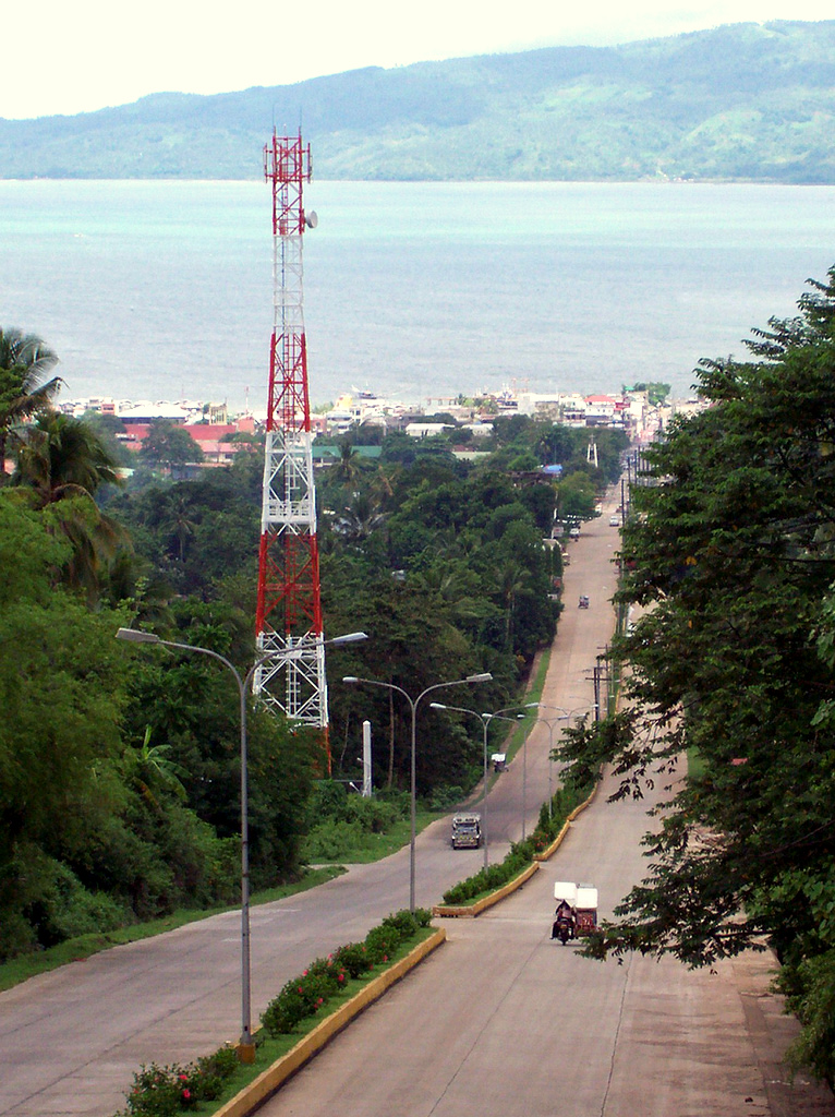 File:Pagadian City Pajares Avenue from Rotonda.jpg