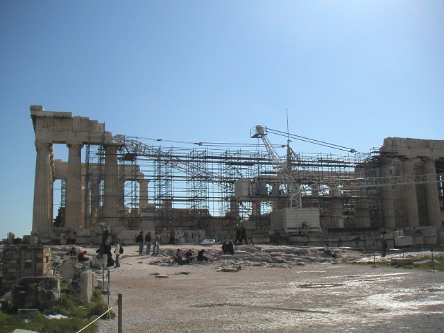 Parthenon restoration - Athens Message Board - TripAdvisor