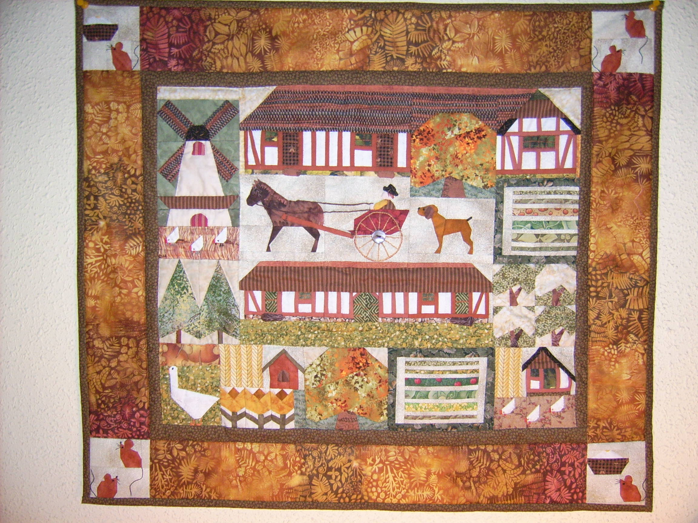 File patchwork granja wikimedia commons - Colchas cuna patchwork ...
