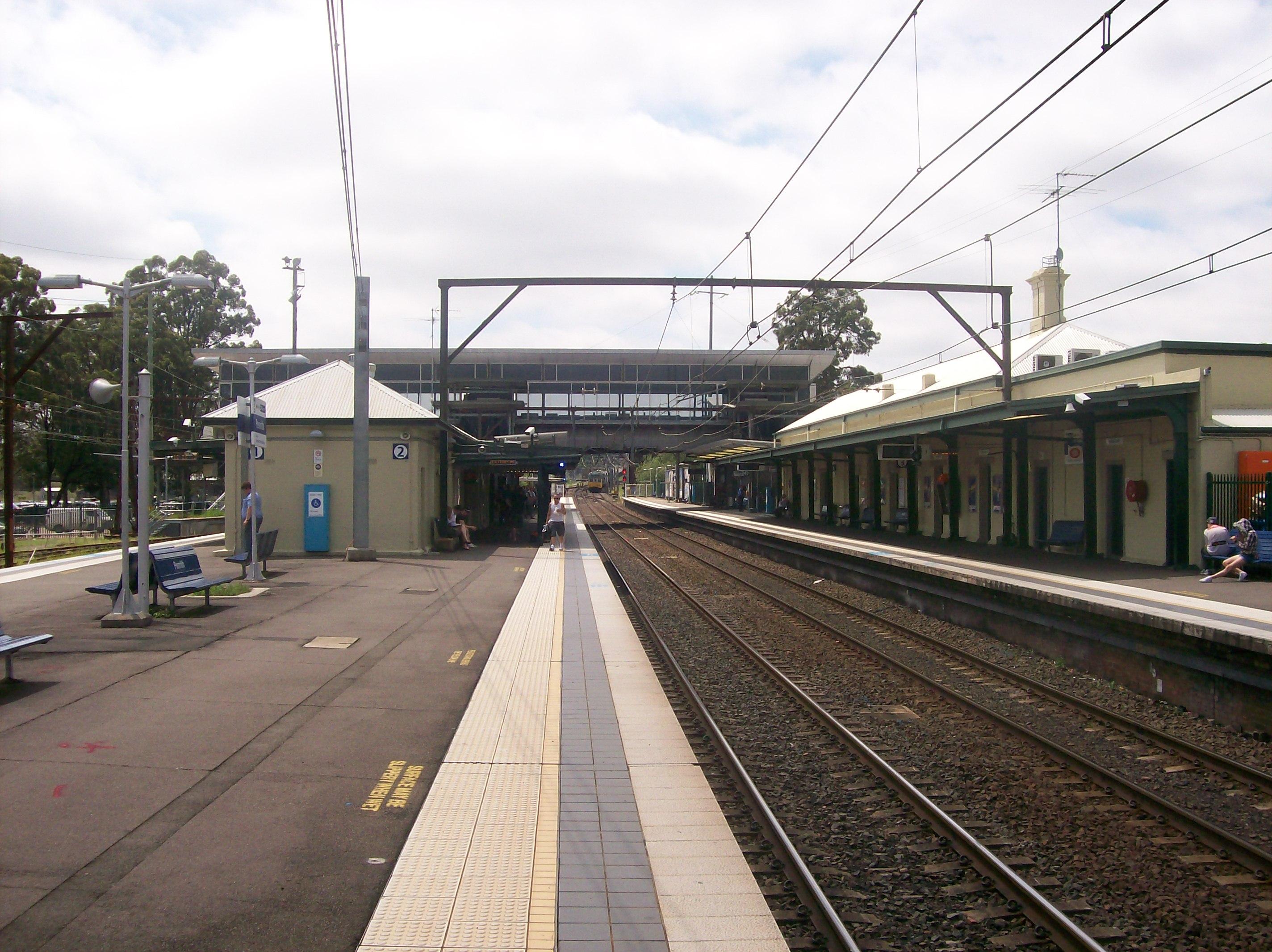 Penrith railway station, Sydney - Wikipedia