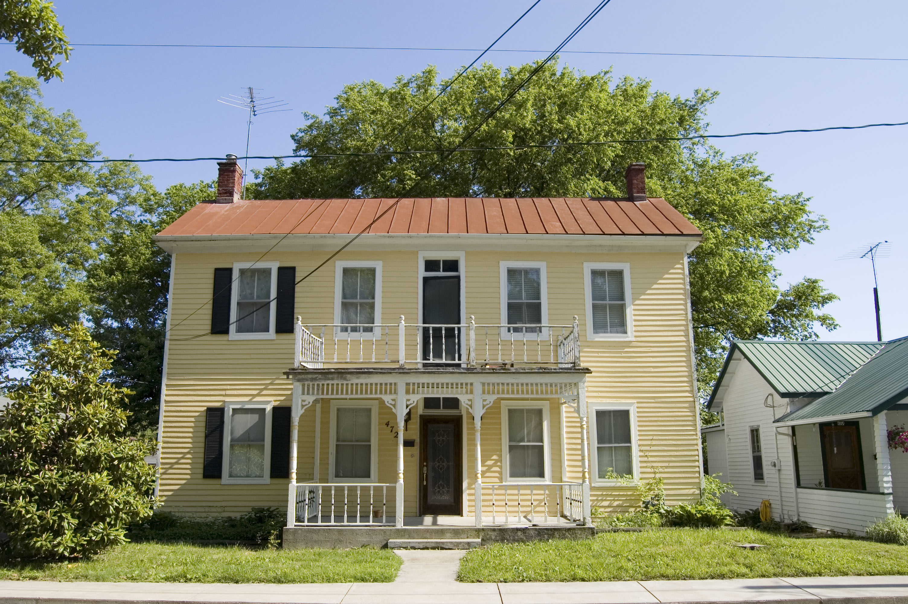 File photograph of a house in ste genevieve for The view house