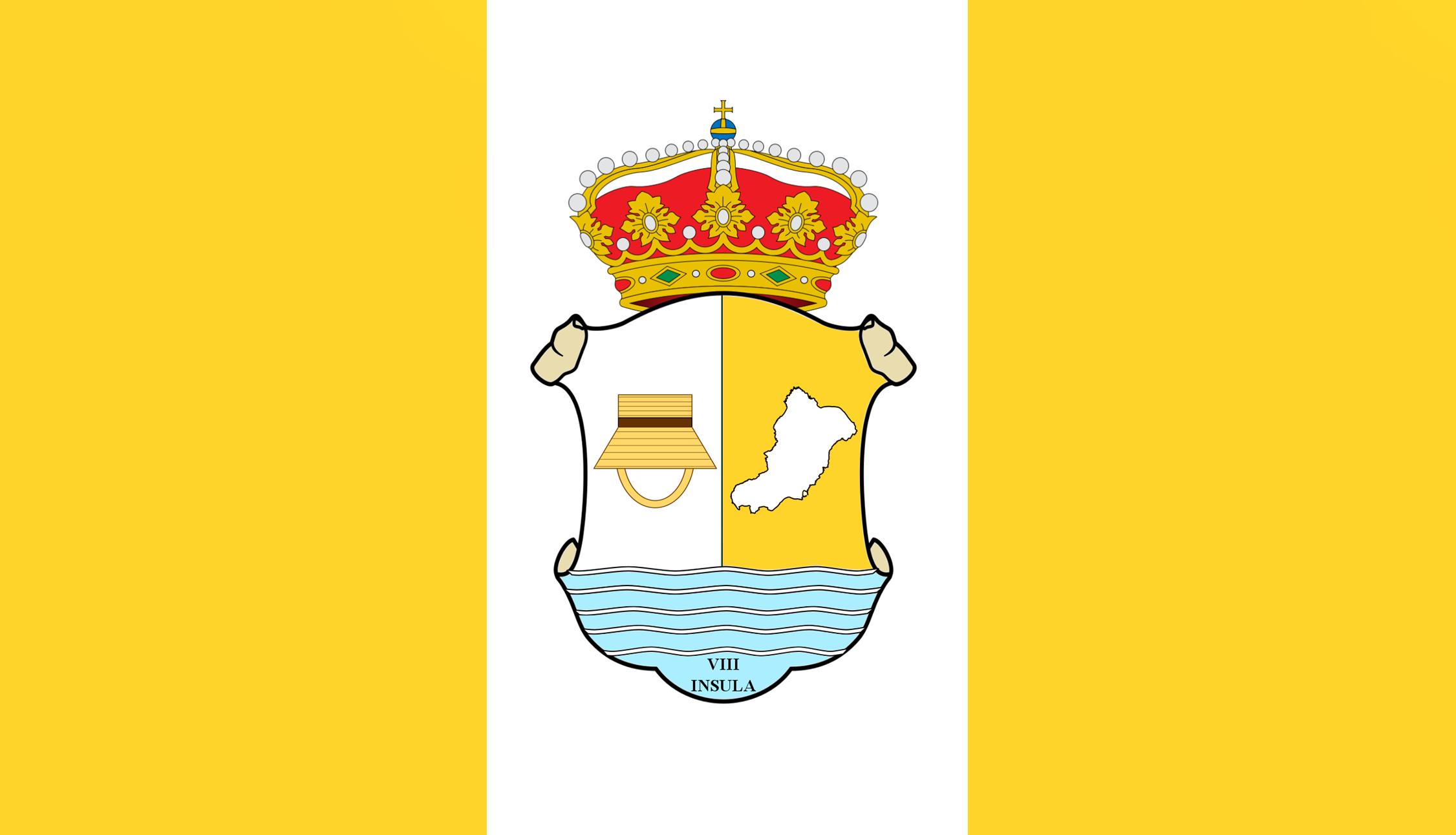 Resultado de imagen de isla de la graciosa escudo