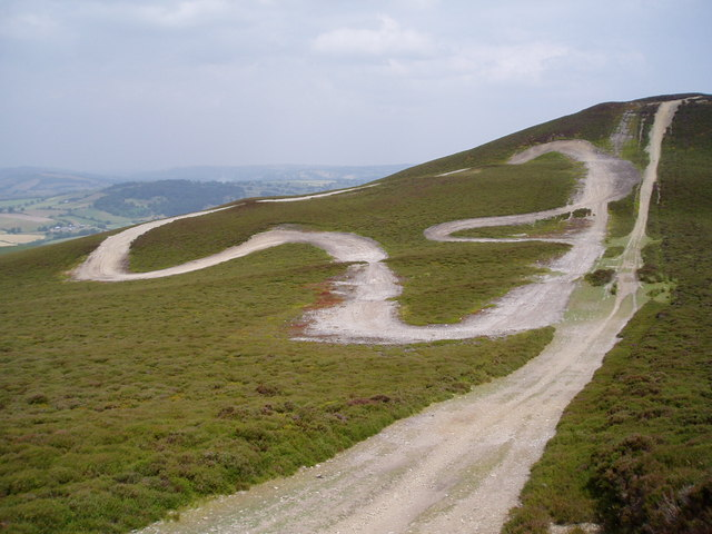 Racing track, Llantysilio Mountain - geograph.org.uk - 206783