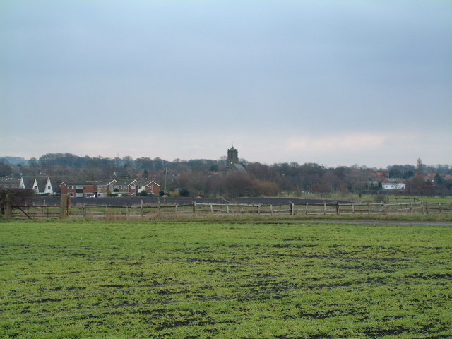 Rainford Village in early spring - geograph.org.uk - 135353