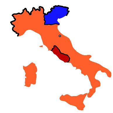Cartina Del Regno Di Sardegna.La Prima Capitale Dell Italia Unita Fu Cagliari Si Chiamava