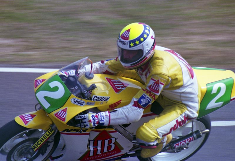 Reinhold Roth at Japanese GP in 1990