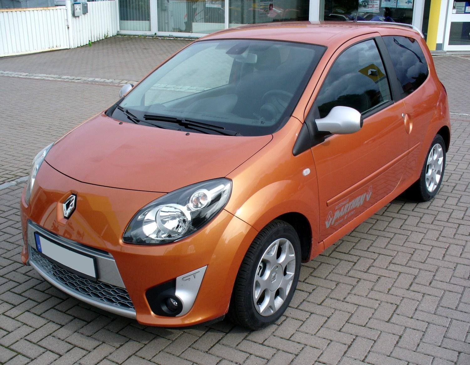 file renault twingo ii phse i gt funken orange jpg. Black Bedroom Furniture Sets. Home Design Ideas