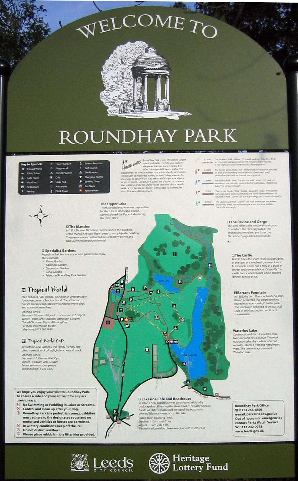 Roundhay Park - Wikipedia