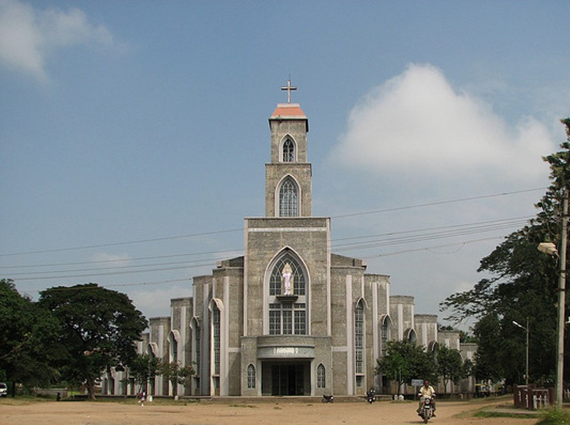 Image result for Sacred Heart Church, Shimoga