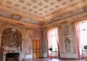 Ballroom at the Château de Condé, decorated by Giovanni Niccolò Servandoni