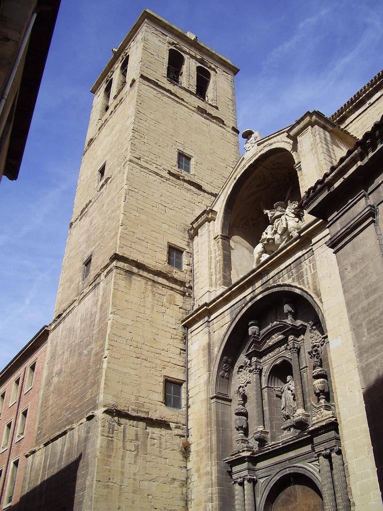Iglesia de santiago el real logro o wikipedia la enciclopedia libre - Cristalerias en logrono ...