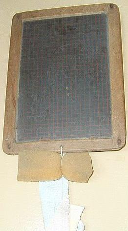 Slate with sponge (~1950)