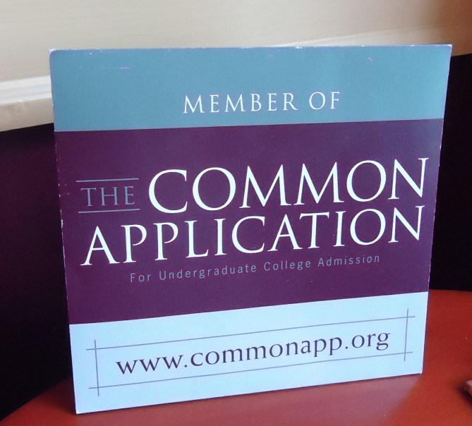 Can I fill out the common application as a junior?