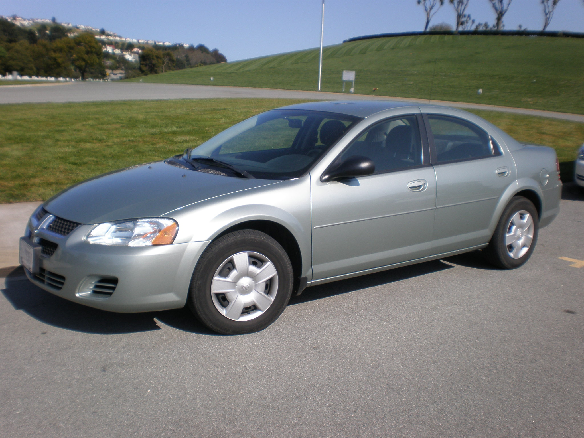 Silver_Dodge_Stratus_SXT_side Great Description About 2001 Dodge Stratus with Captivating Pictures Cars Review