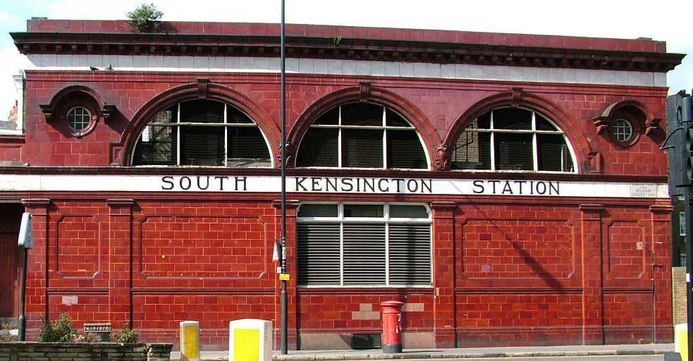 south kensington station. Black Bedroom Furniture Sets. Home Design Ideas