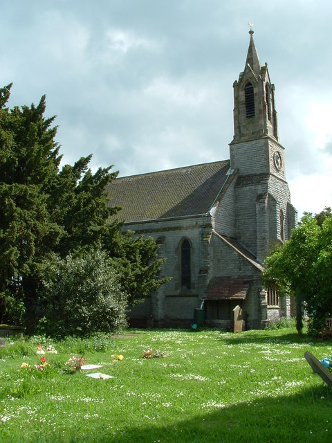 West end of SS Philip and James' parish church, Whittington