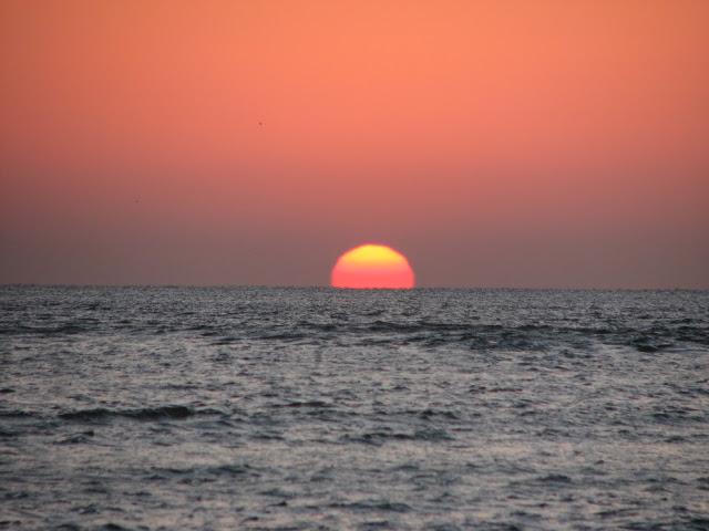 Sun Rise in Diu, India