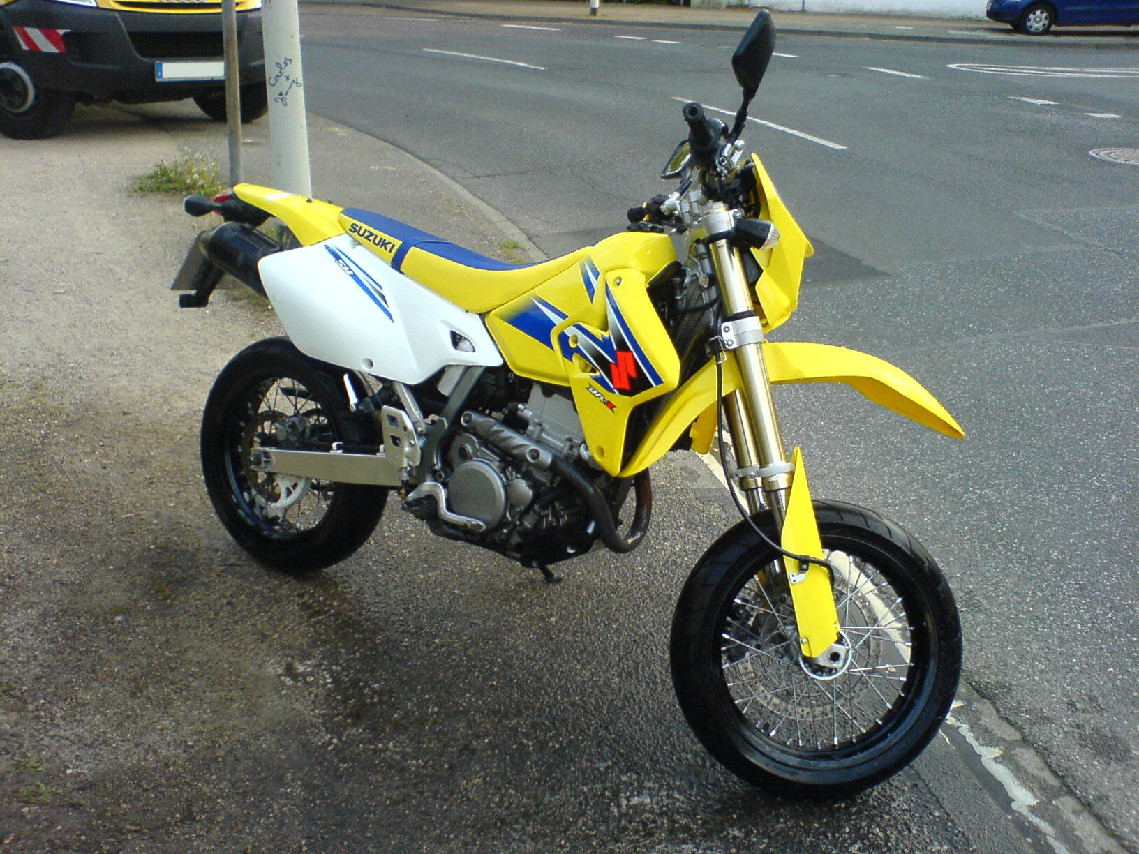 Suzuki Drz  Top Speed