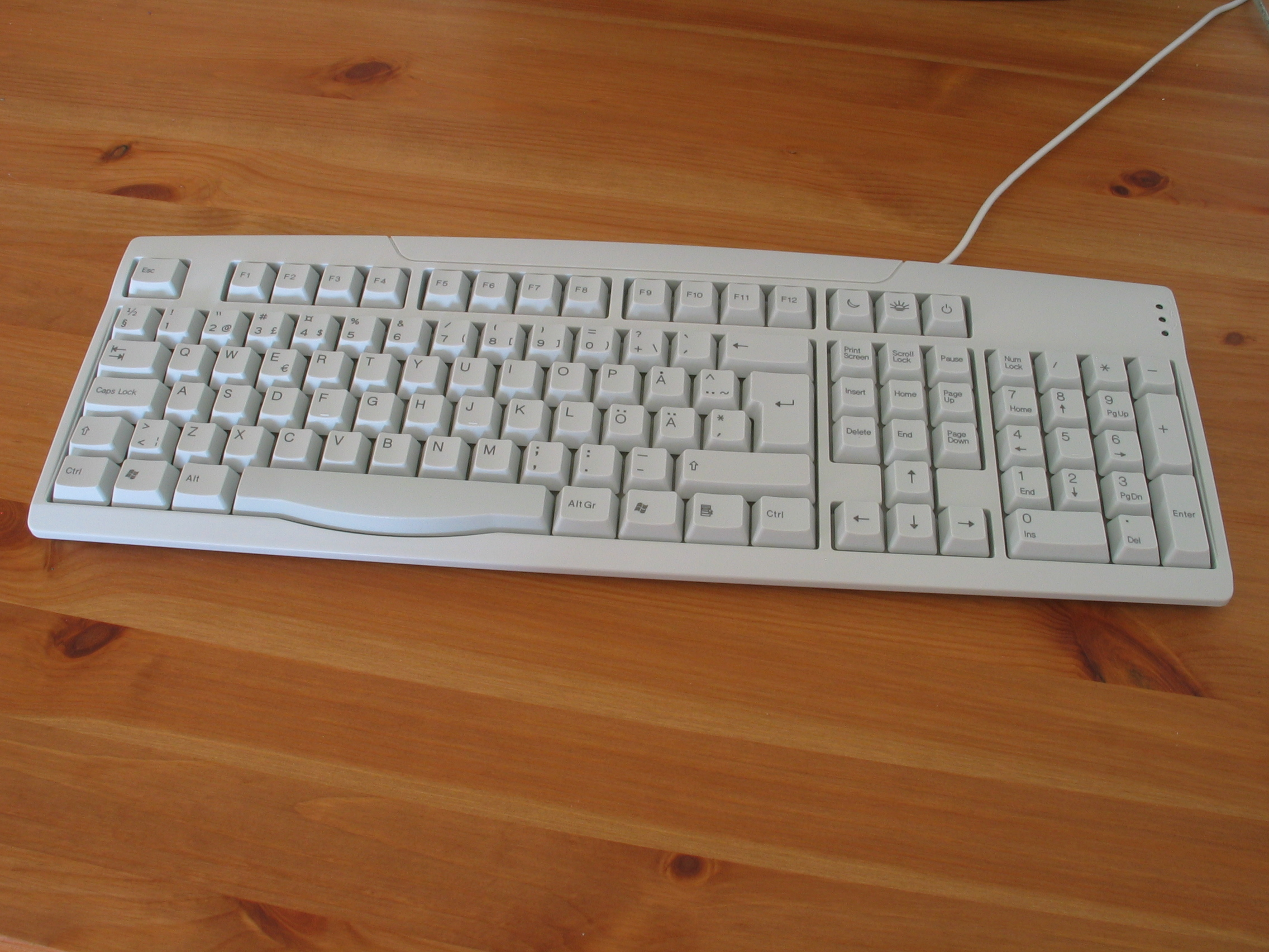 Swedish keyboard