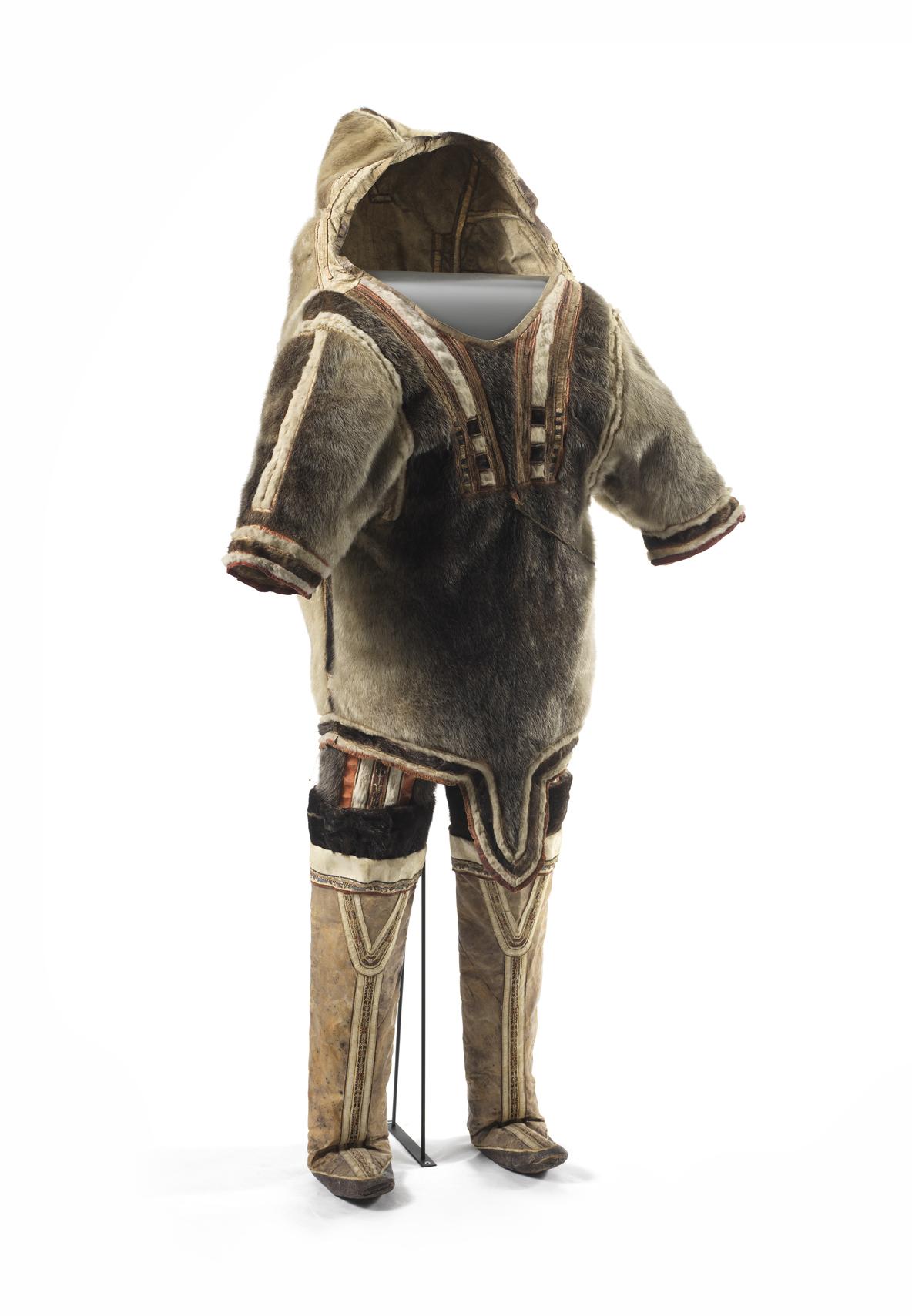 File Fra Clothing Til Kvinde Woman's tøj Inuit I From Vestgrønland E29HDYWI