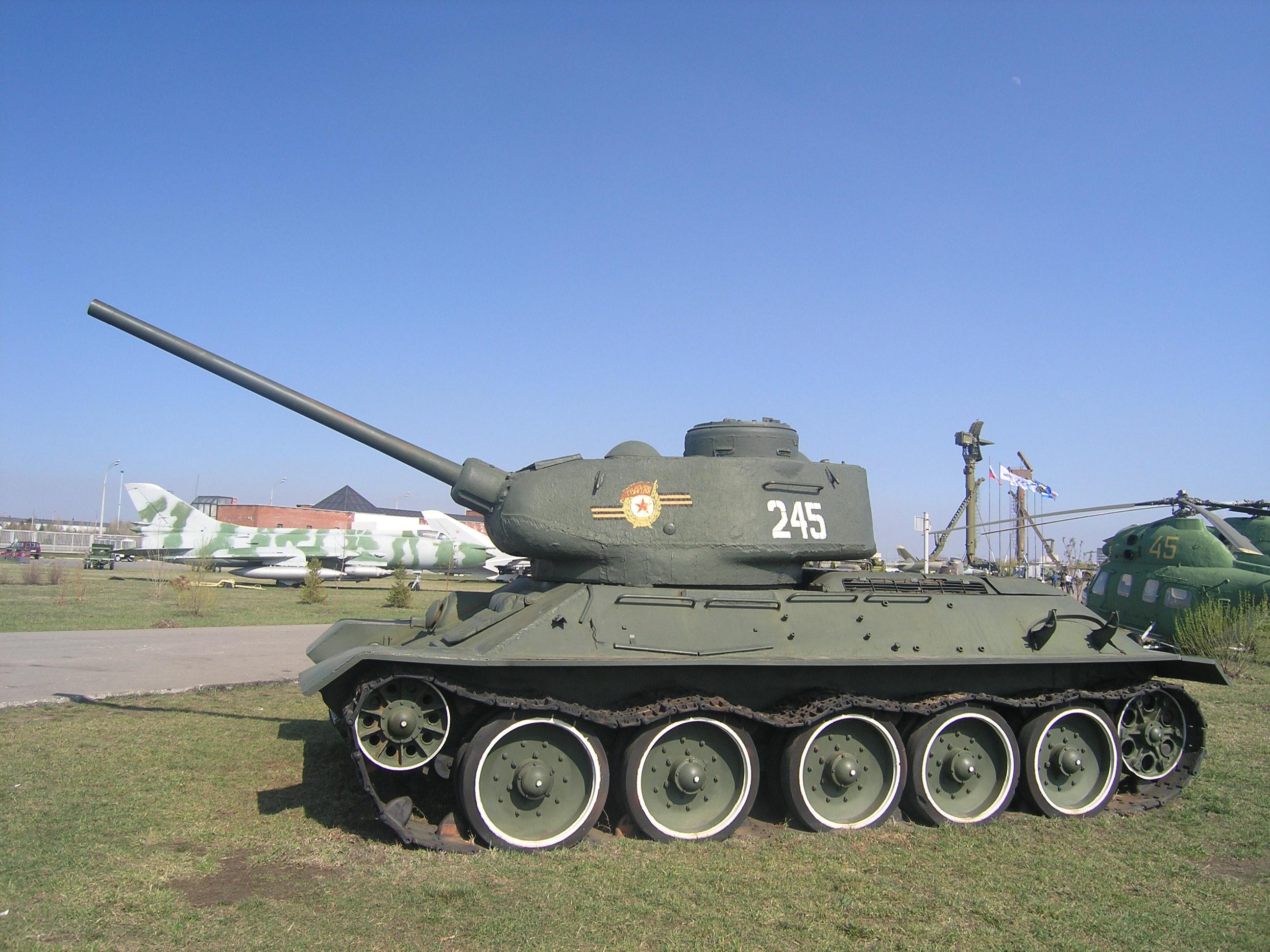 Togliatti Russia  city pictures gallery : T 34 85, museum, Togliatti, Russia 2 Wikimedia Commons