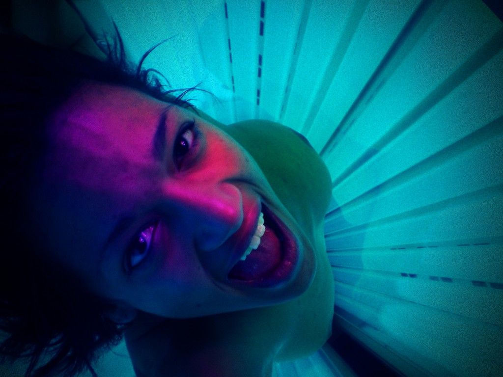 Tanning bed hidden camera pictures
