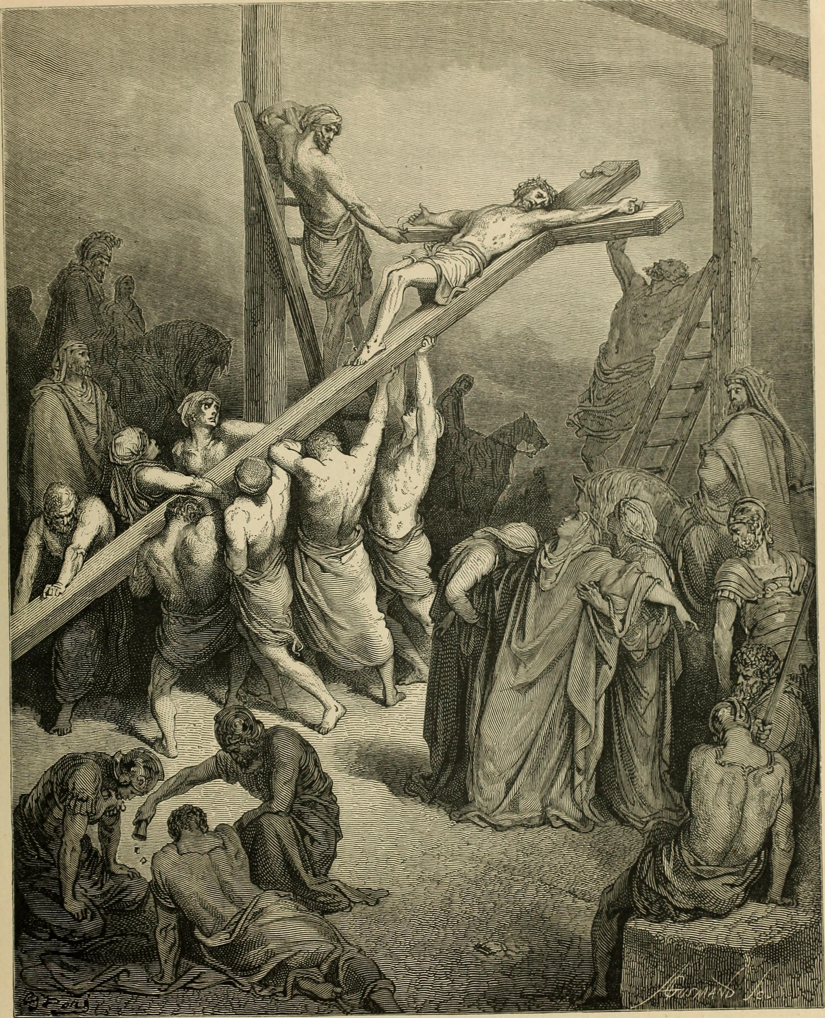 하나님의 비밀 그리스도를 십자가에 못 박는 유대인들