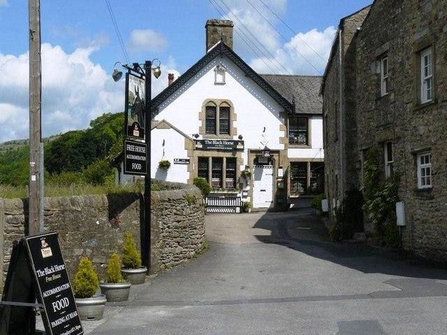 The Black Horse Pub Giggleswick - geograph.org.uk - 1370214