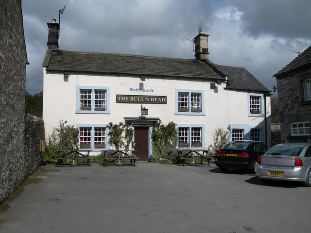 The Bull's Head Ashford in the Water - geograph.org.uk - 1598135