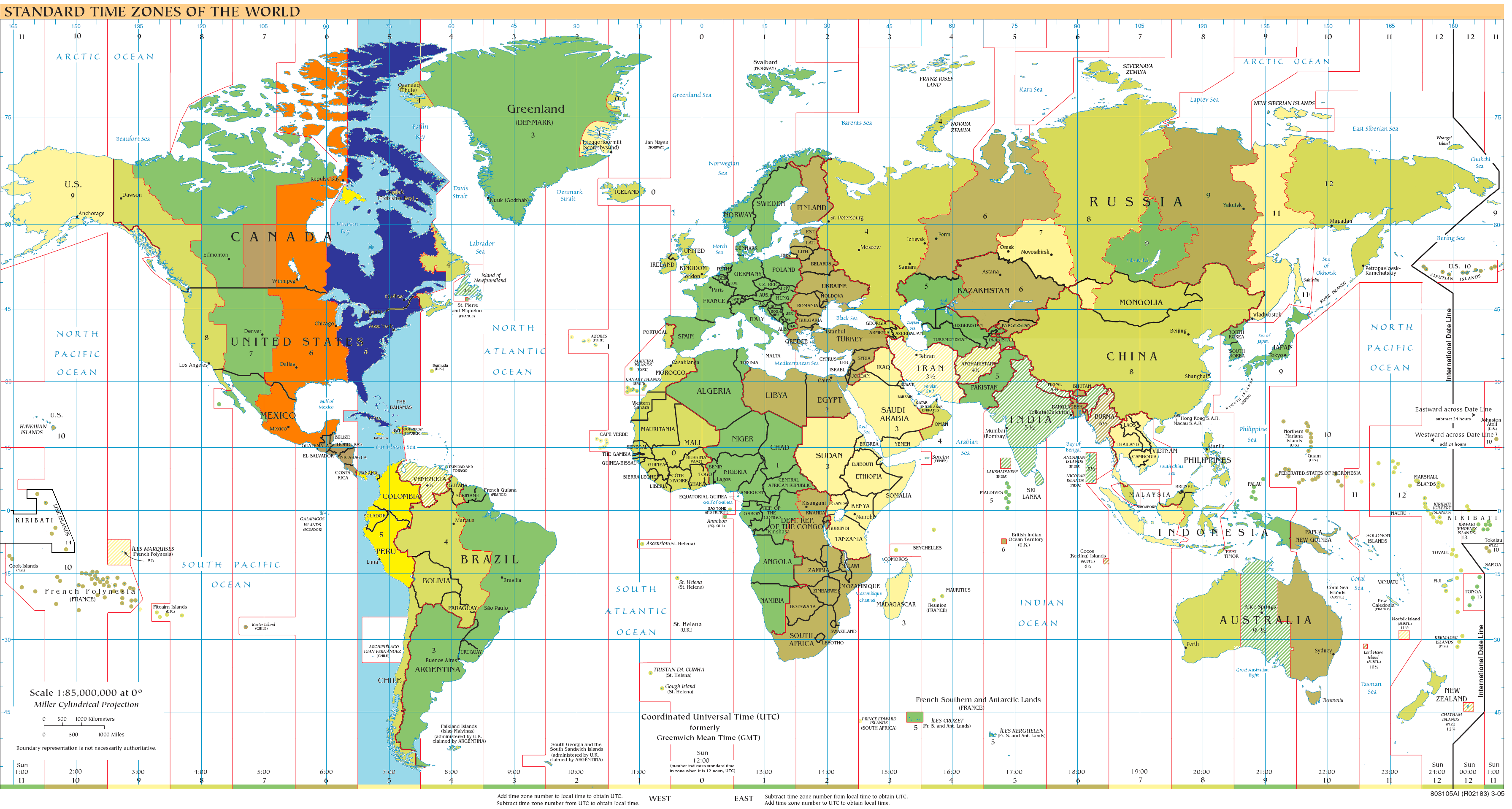 Eastern+Standard+Time+Gmt Blue portion follows the time during ...
