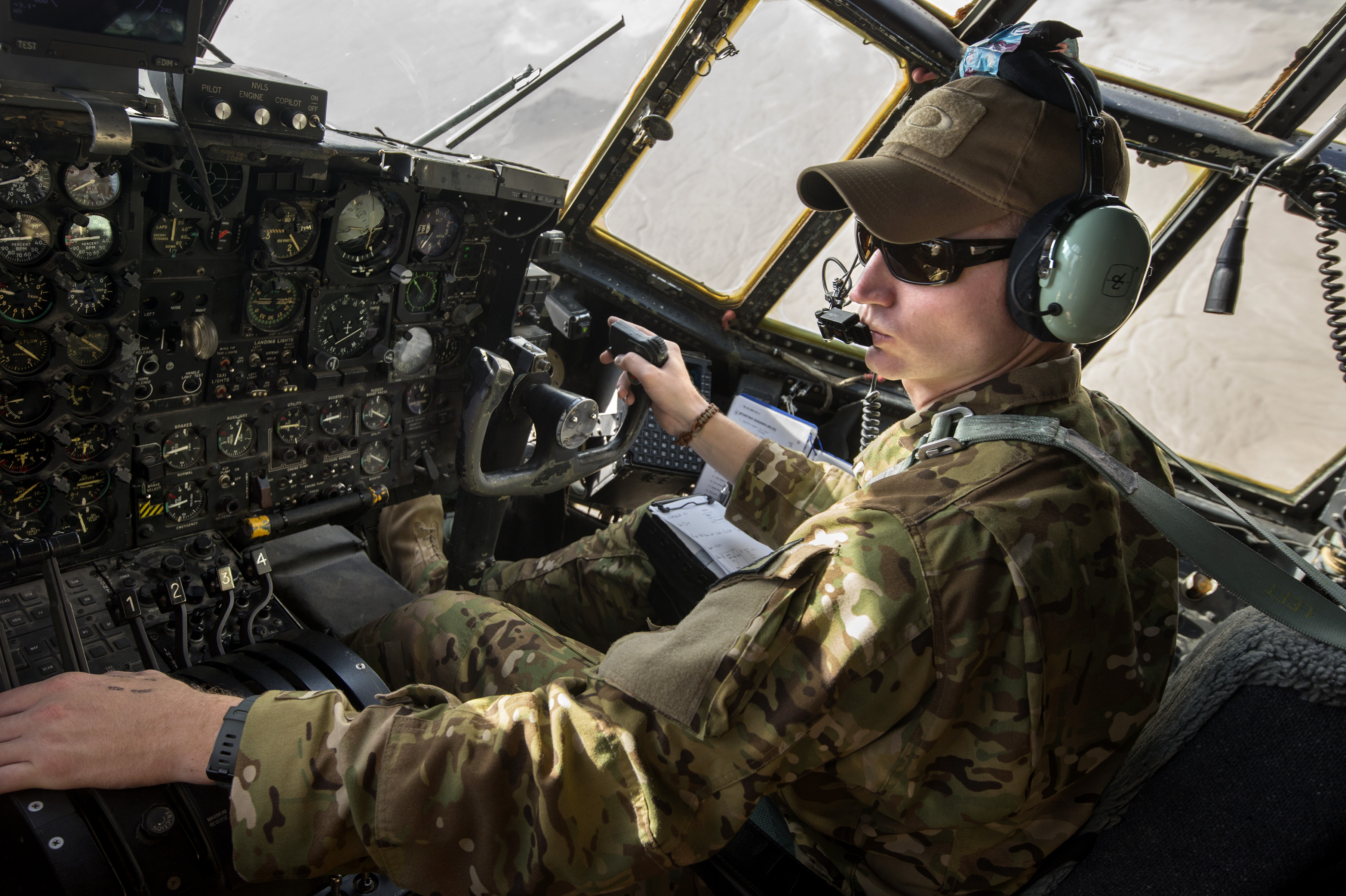 File:U.S. Air Force 1st Lt. Brent Stevens, a pilot with ...