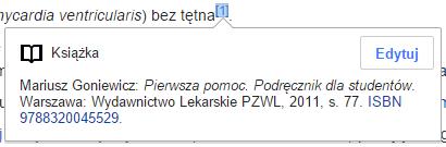 Najczęściej cytowane książki w polskiej Wikipedii