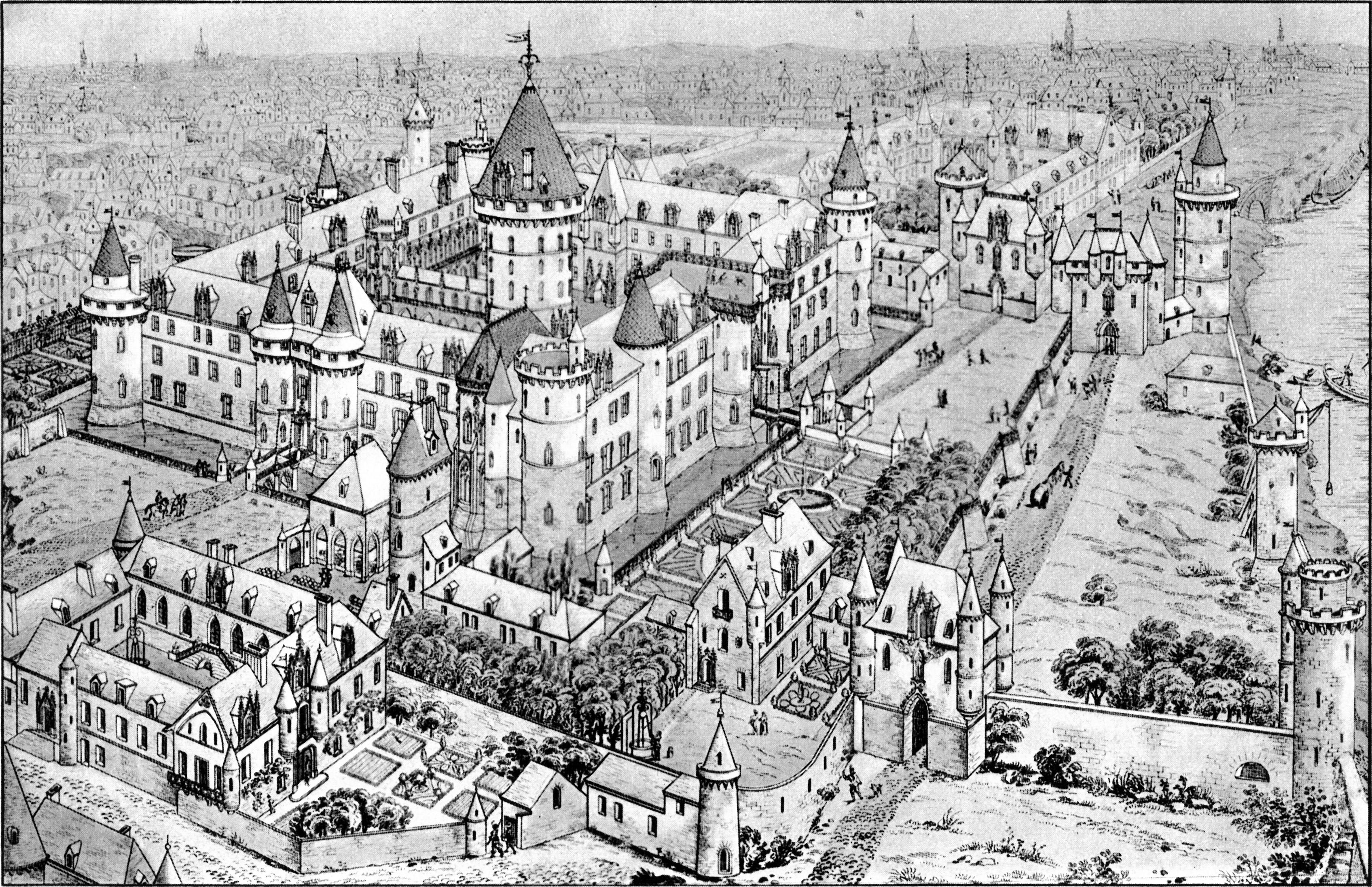 File vue cavali re du louvre m di val comte de clarac 1826 christ 1949 f - Date construction du louvre ...