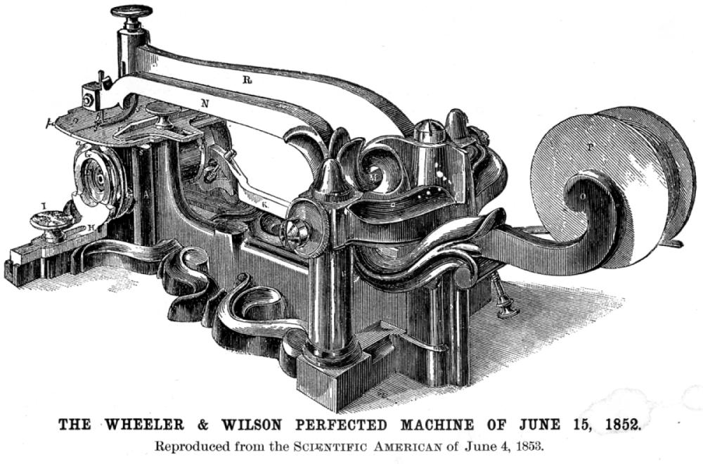 About Allen B Wilson UpClosed Classy How Was The First Sewing Machine Made