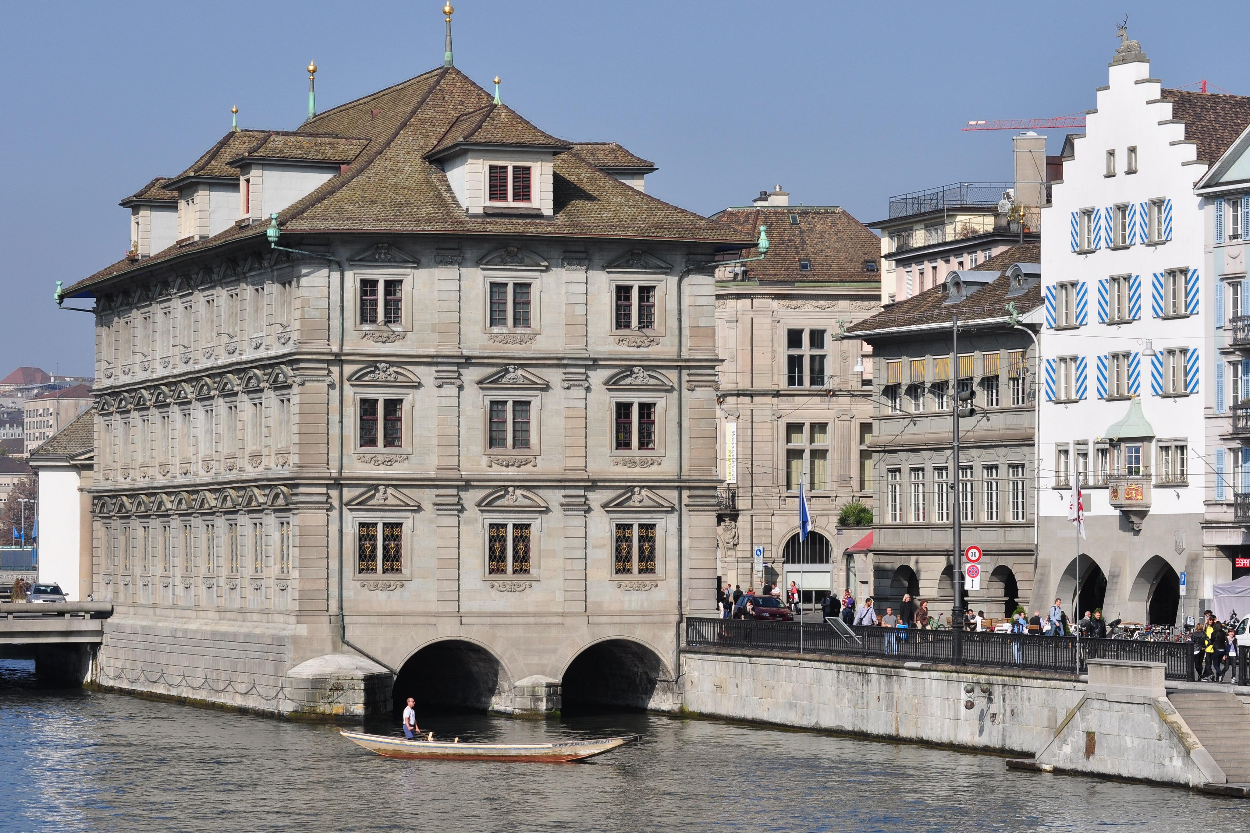 Zurich City Hall Zurich Town Hall