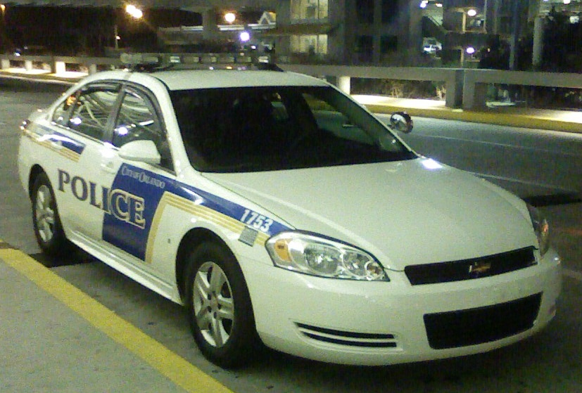 a 2008 chevrolet impala police car from the orlando international airport - Garden City Police Department