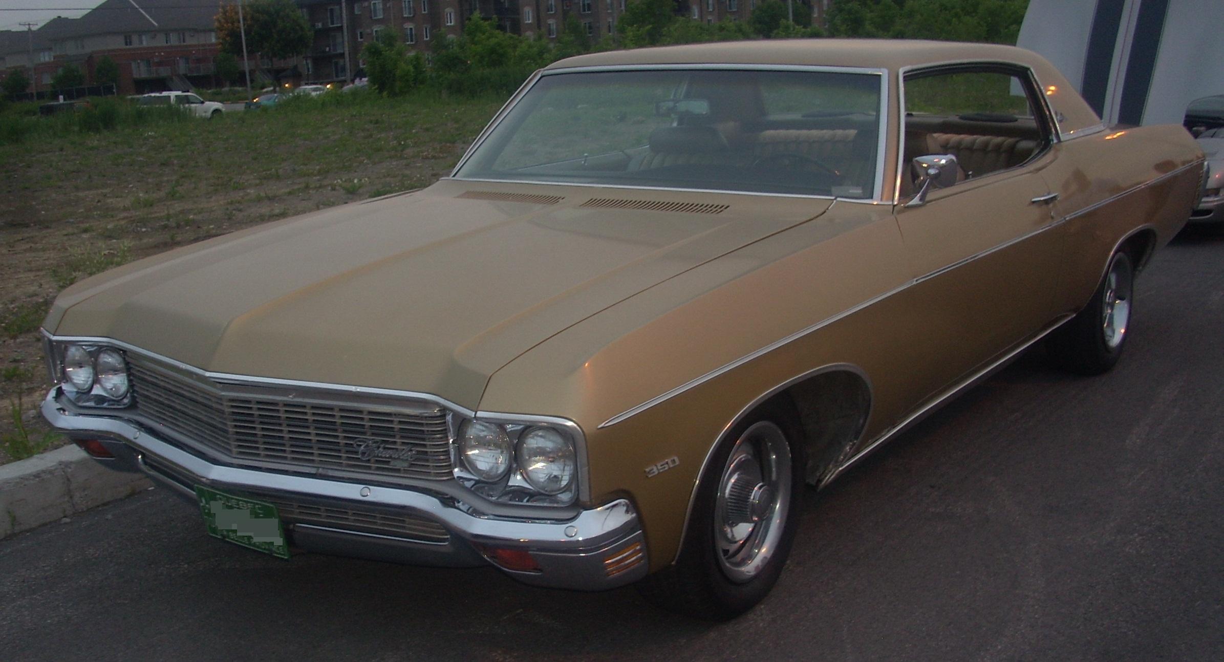 File:'70 Chevrolet Impala Coupe (Centropolis Laval '10).jpg ...
