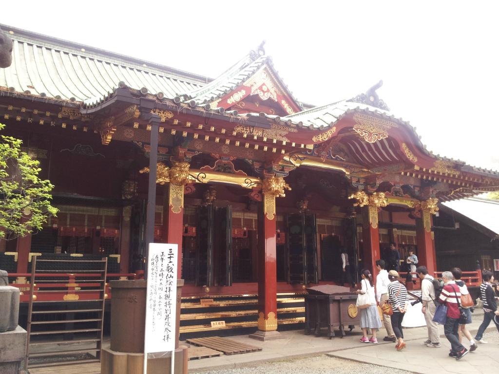 根津 神社