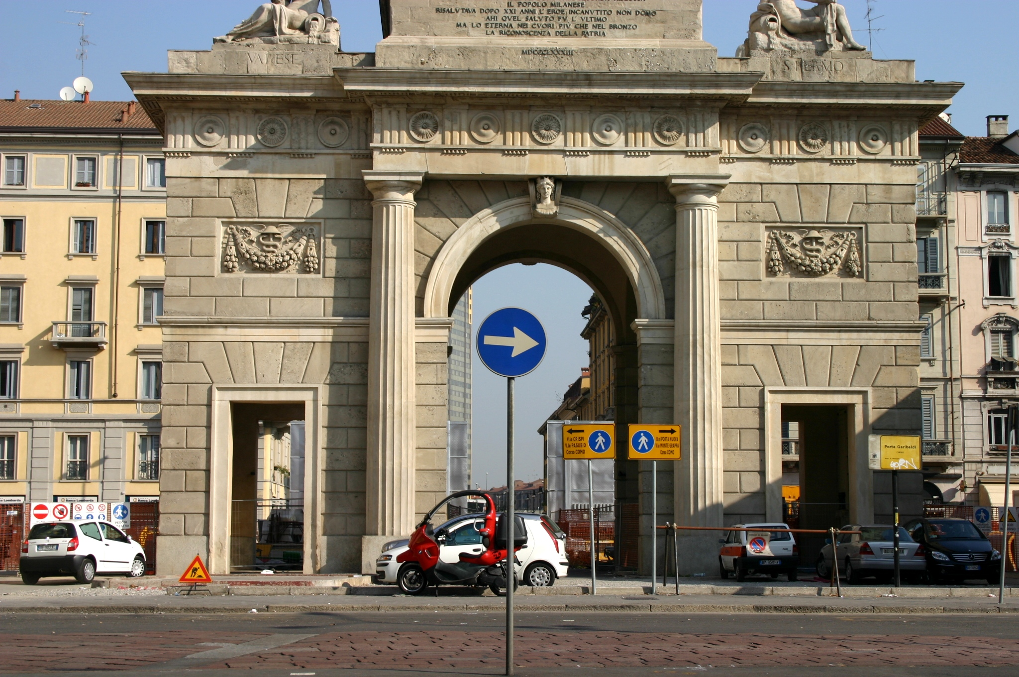 File 1355 milano giacomo moraglia porta garibaldi - Treno bergamo milano porta garibaldi ...