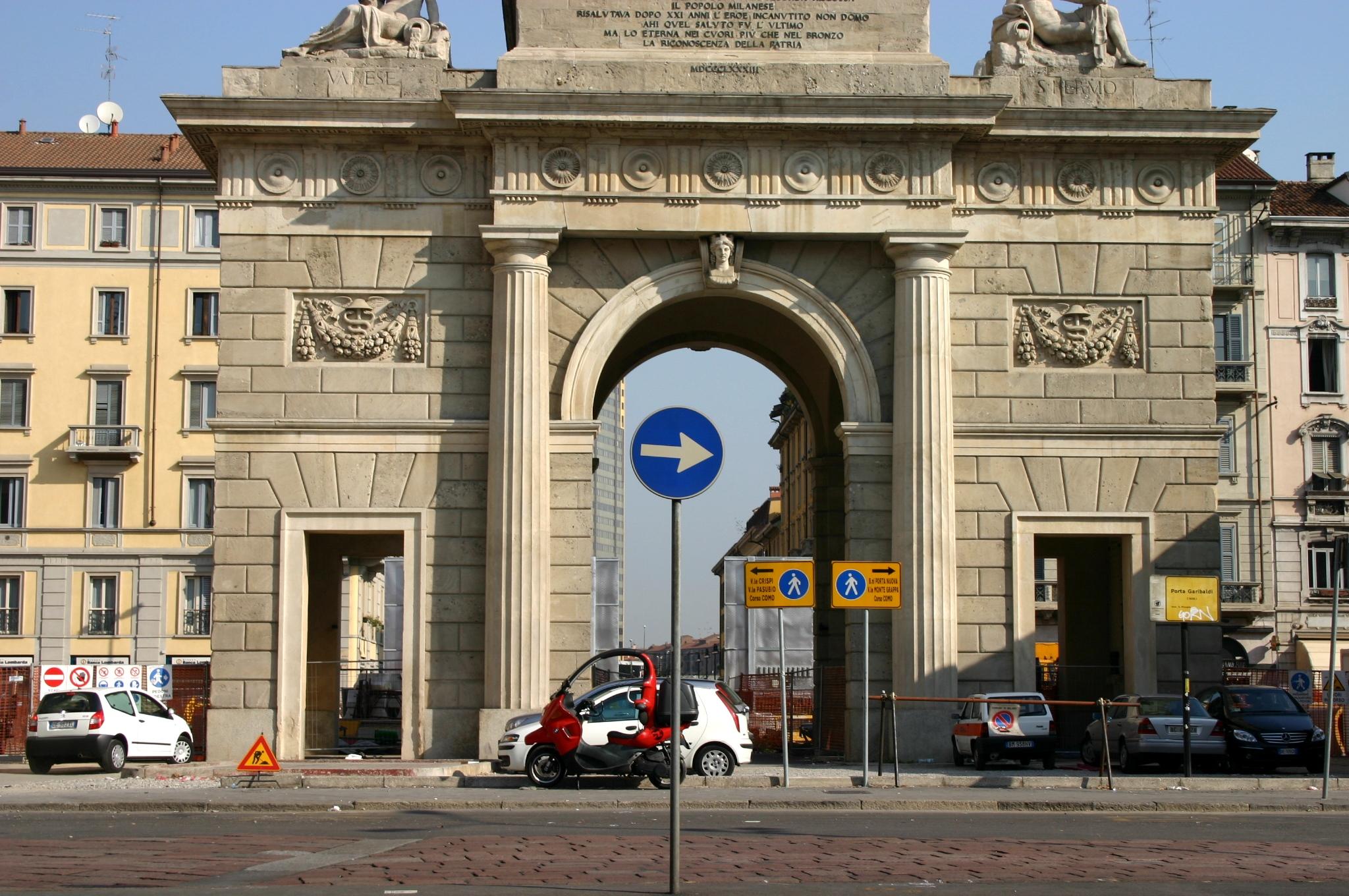 File 1355 milano giacomo moraglia porta garibaldi - Passante porta garibaldi ...