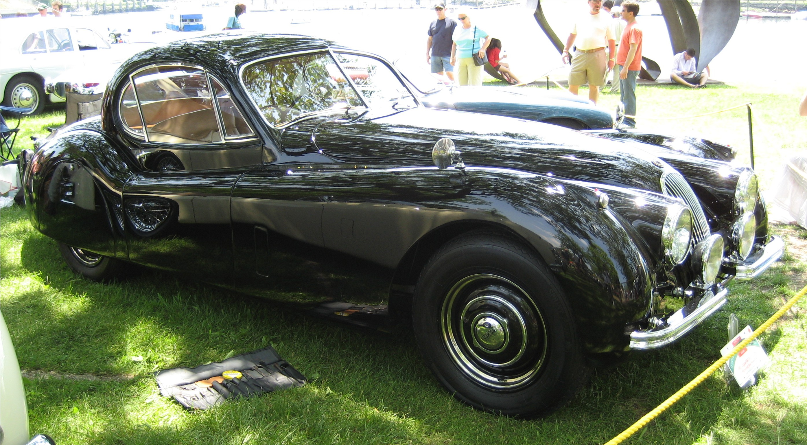File:1953 Jaguar XK120 Coupe