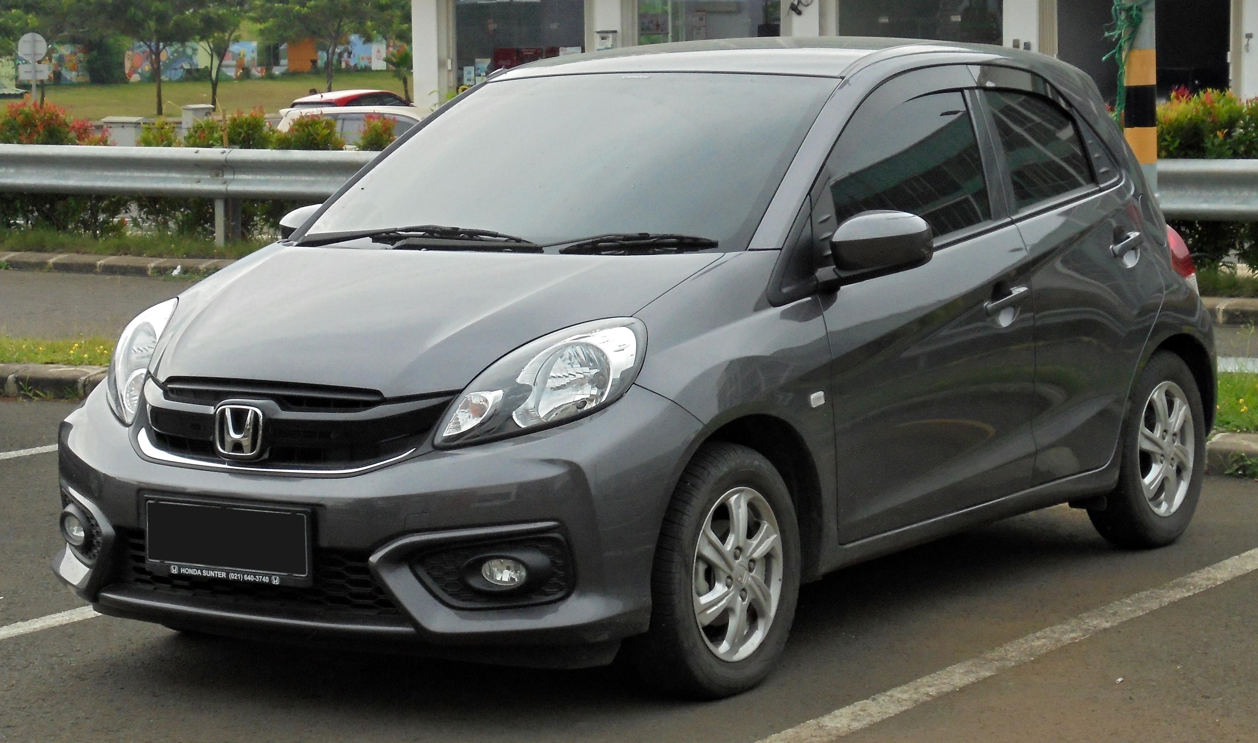 File:2018 Honda Brio Satya 1.2 E hatchback (DD1; 01-31-2019), South Tangerang.jpg - Wikipedia