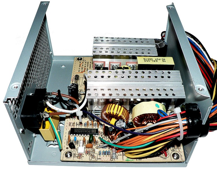 Junkbox parts: PC power supply | QRZ Forums