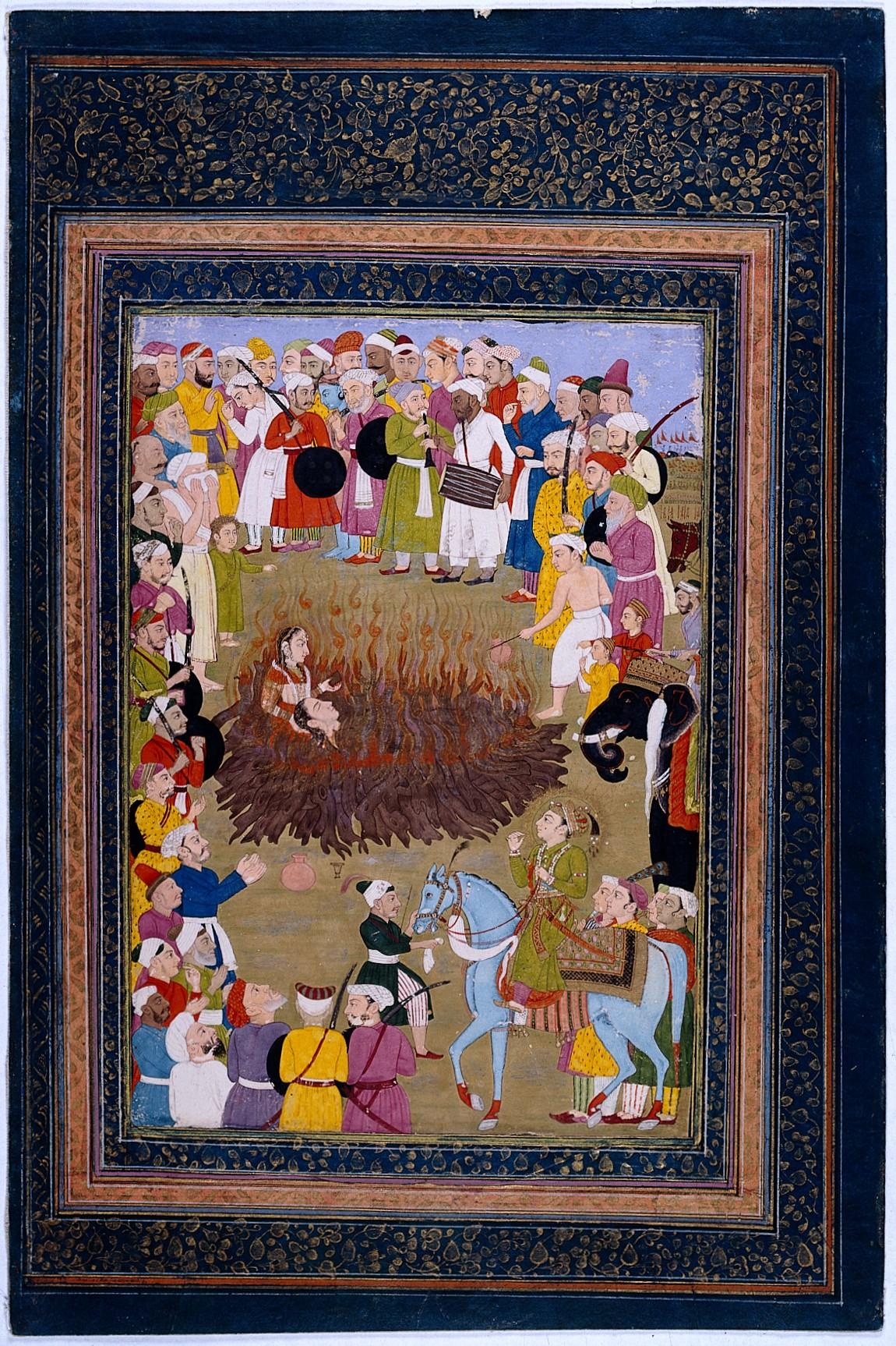 Сати, самосожжение вдов в Индии