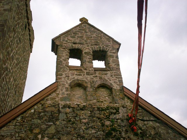 File:Above Western Doorway, Ciffig Church - Belltower^ - geograph.org.uk - 1172420.jpg