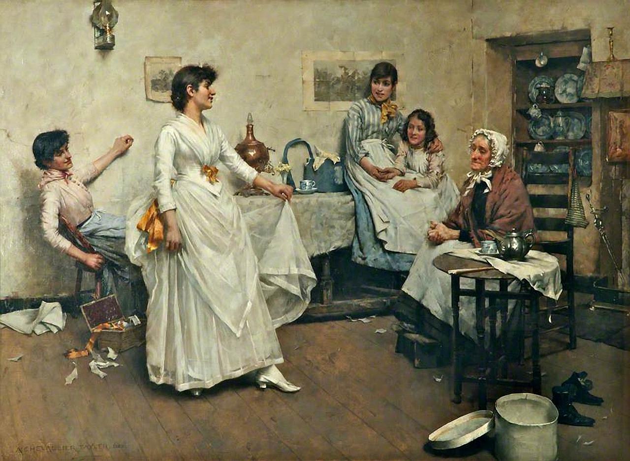 Альбер Шевалье Тайлер - Генеральная репетиция 1888.jpg