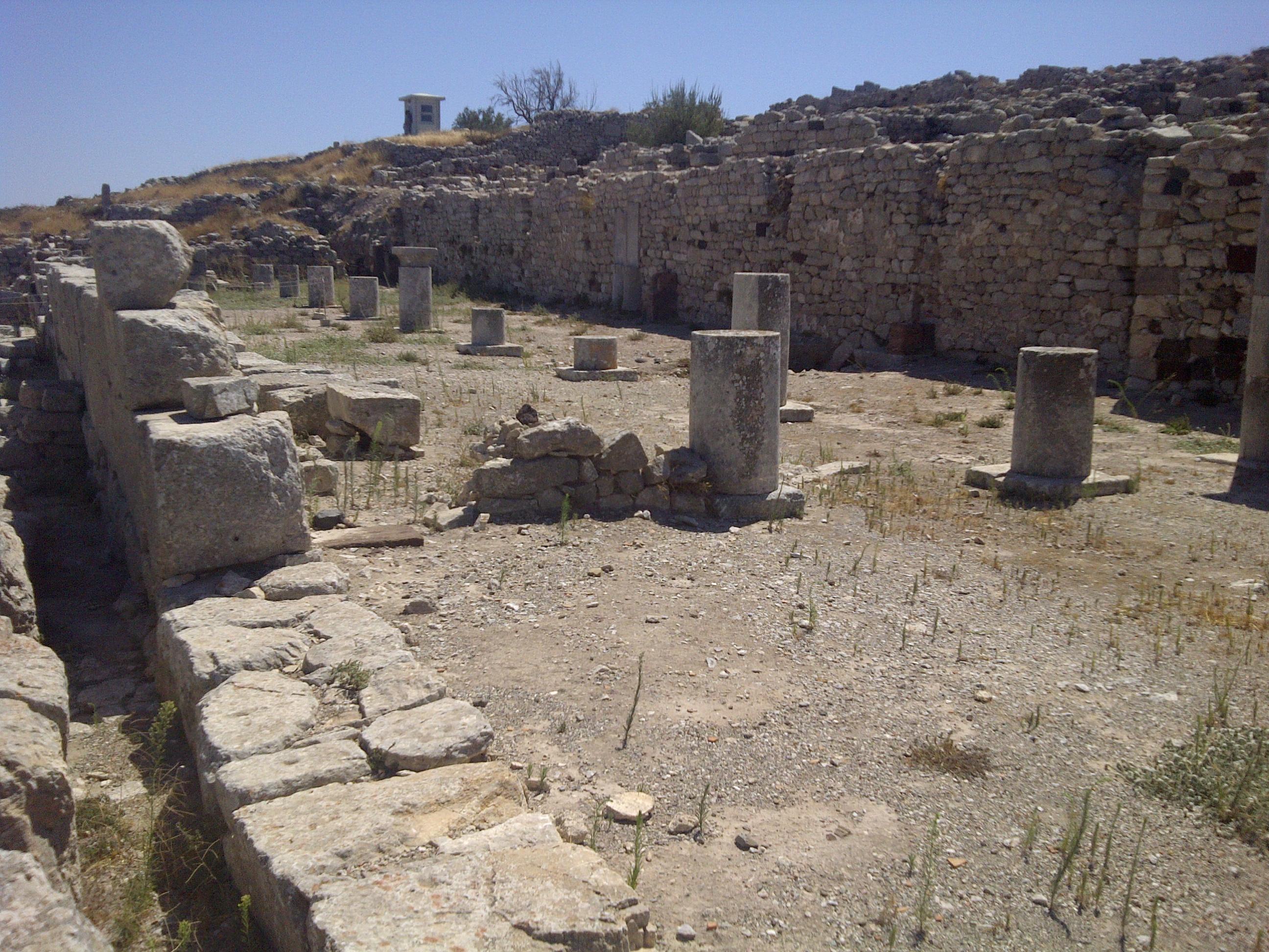 Ancient Thira Agora - Греция Древняя Тира
