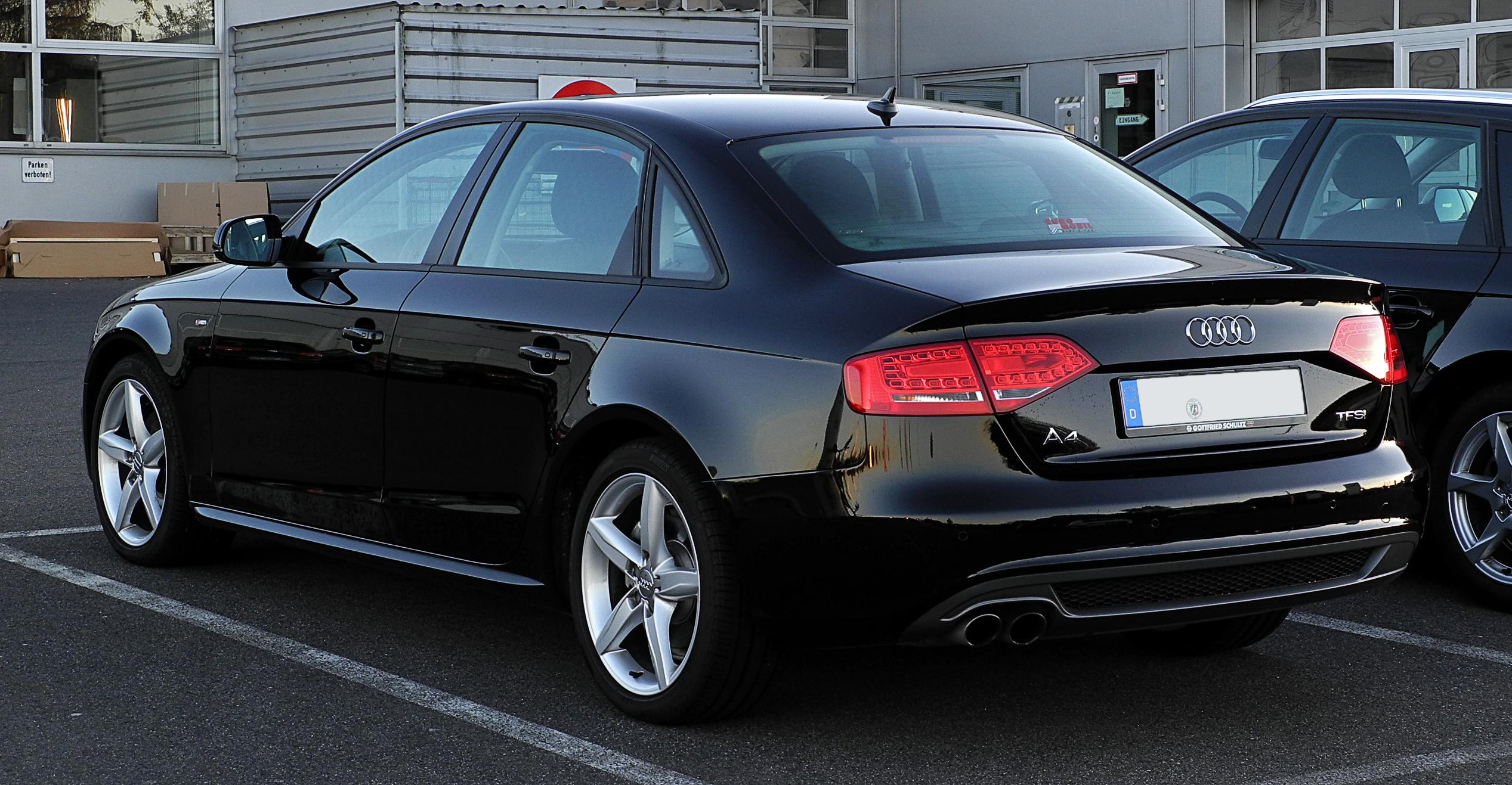 File Audi A4 Tfsi Ambition S Line B8 Heckansicht 15