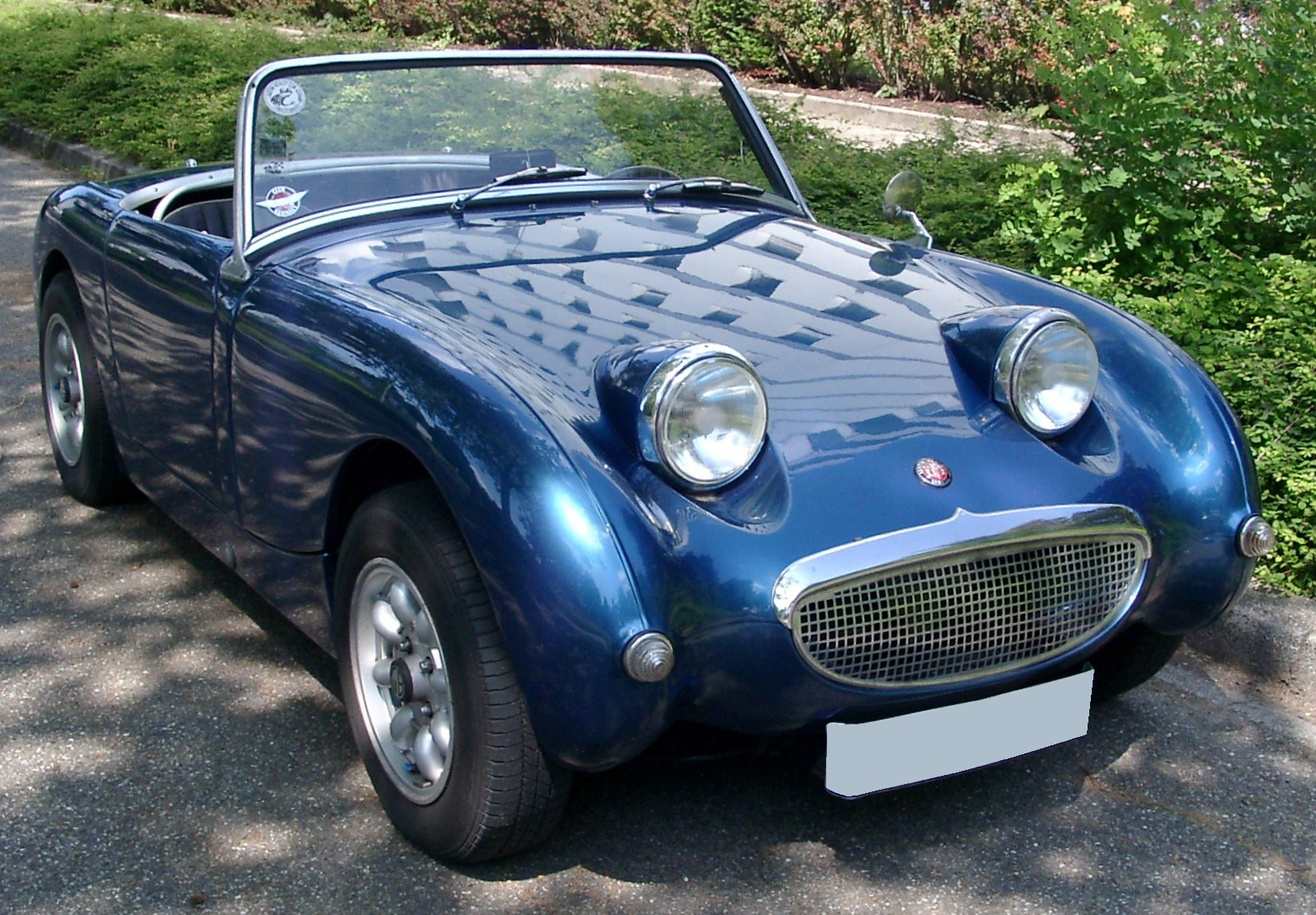 Description Austin Healey Sprite Front 20080610jpg
