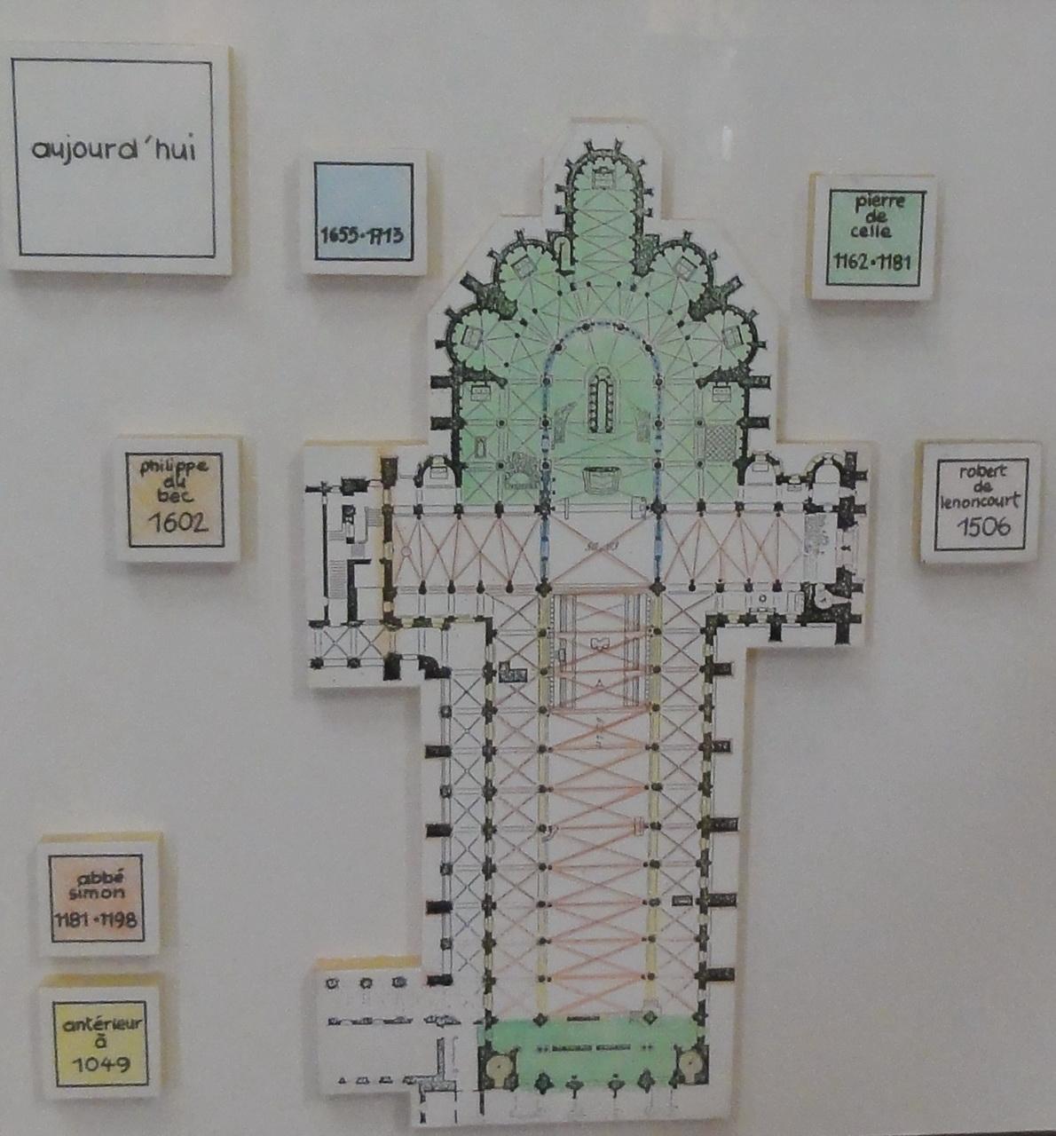 Basilica Floor Plan File Basilique Saint Remi De Reims 11 Plan Jpg Wikimedia